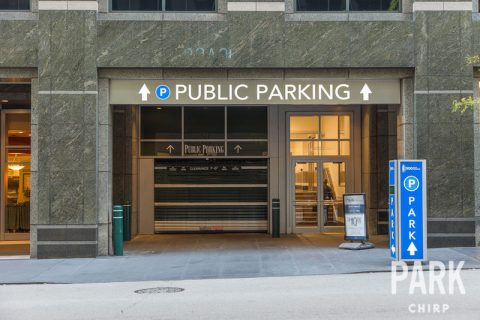 Parking for 500 West Monroe