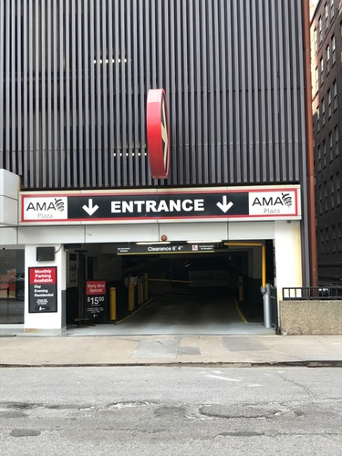 Photo of 401 N. State St. (AMA Plaza) – Garage