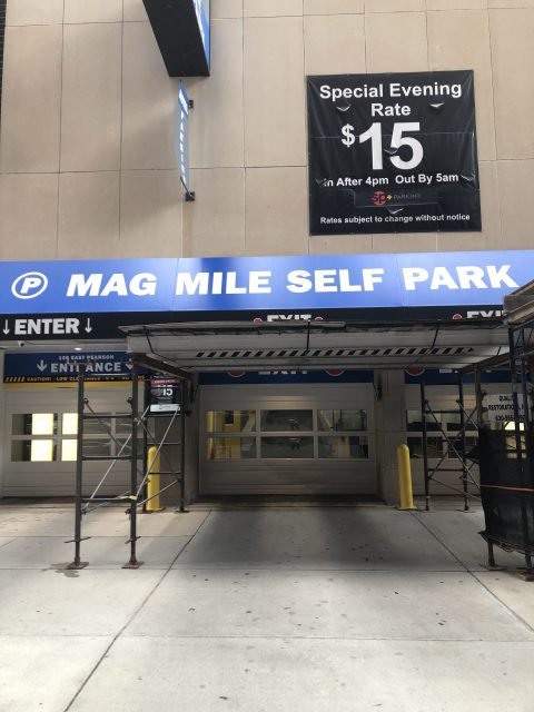 Parking for Mag Mile