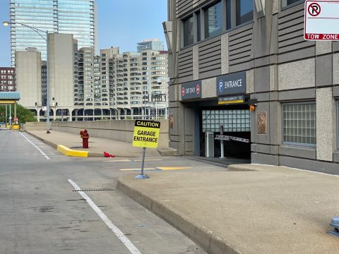Parking for 801 South Canal