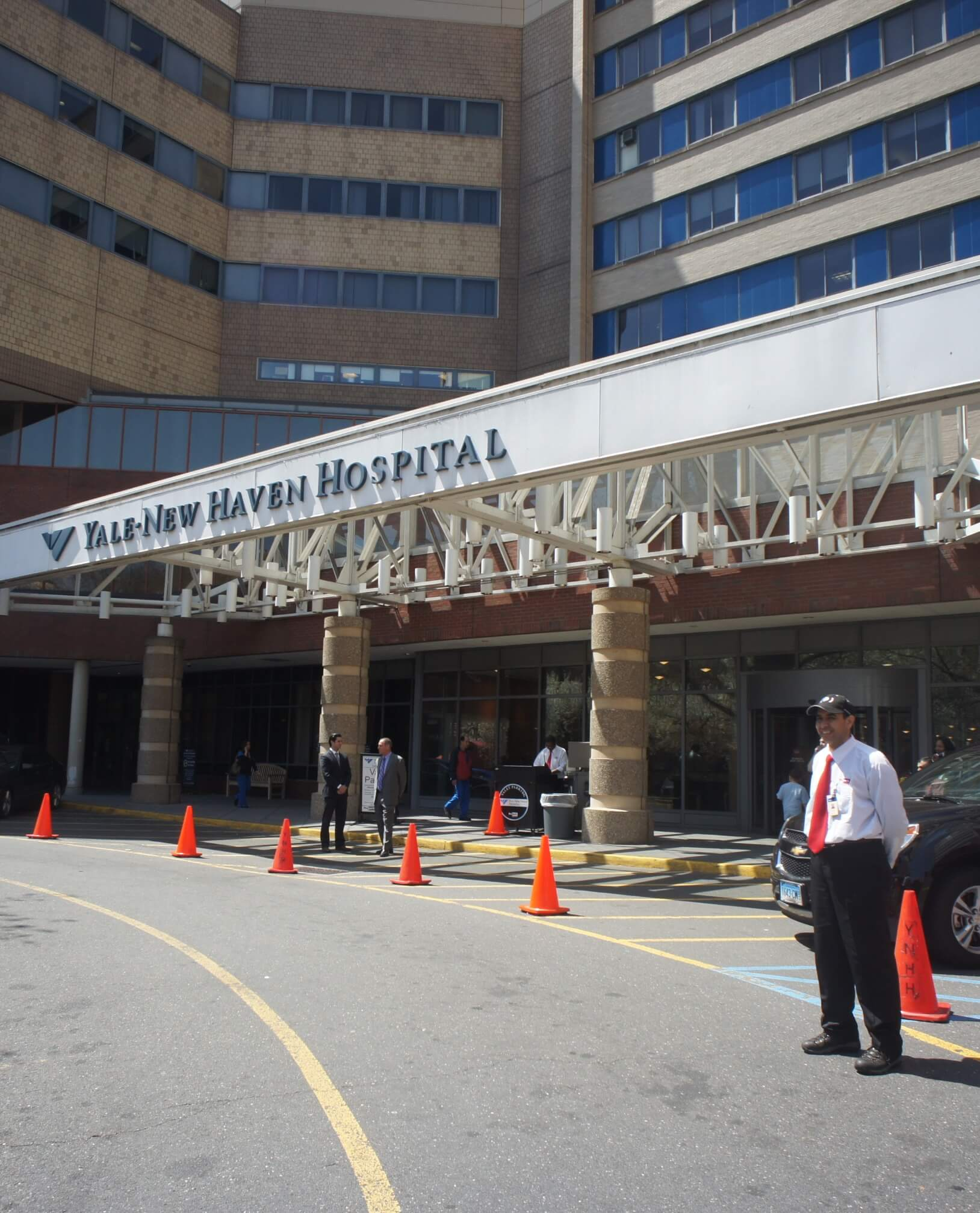 Yale New Haven Hospital | Propark Mobility Healthcare Parking and Valet Services