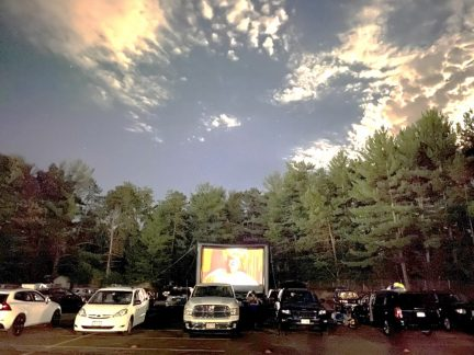 Propark Mobility Turns Empty Parking Lot into a Drive-In Movie to Benefit Local Food Bank
